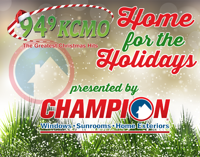 Enter to bring a loved one Home for the Holidays presented by Champion Windows!
