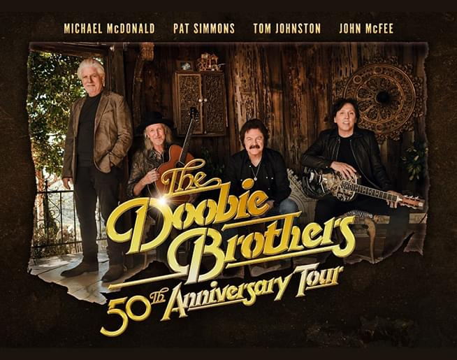 94.9 KCMO presents The Doobie Brothers // 8.15 @ Starlight Theatre