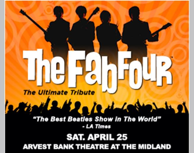 The Fab Four at The Midland on April 25th
