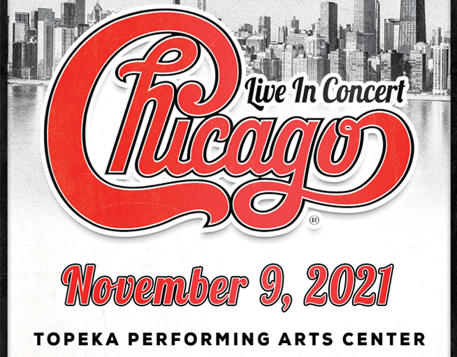 Chicago – November 9th at Topeka Performing Arts Center