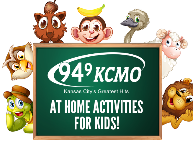 At home activities for kids!