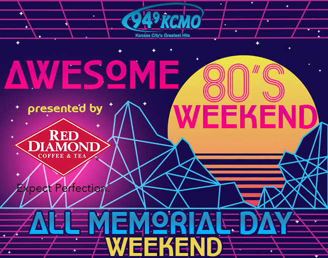 Awesome 80's Memorial Day Weekend presented by Red Diamond Iced Tea
