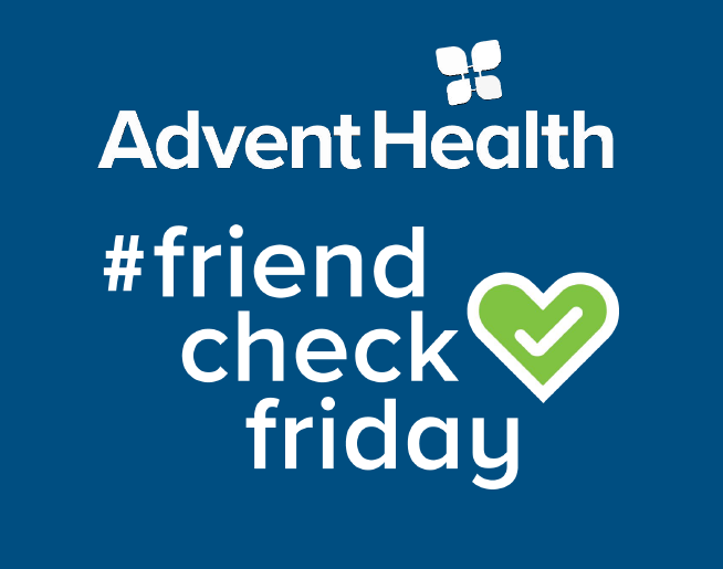 Every Friday is Friend Check Friday