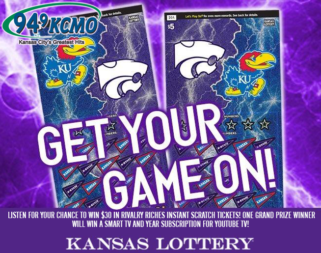 Listen to Win with KS Lottery Rivalry Riches!