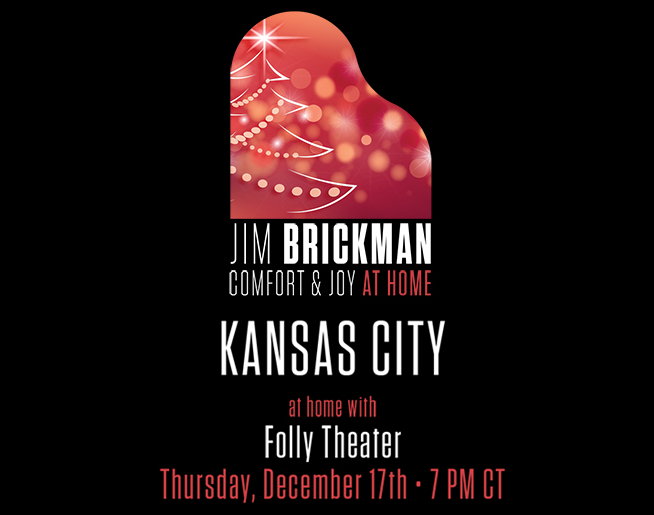 Jim Brickman // Comfort at Home Tour // 12.17.20