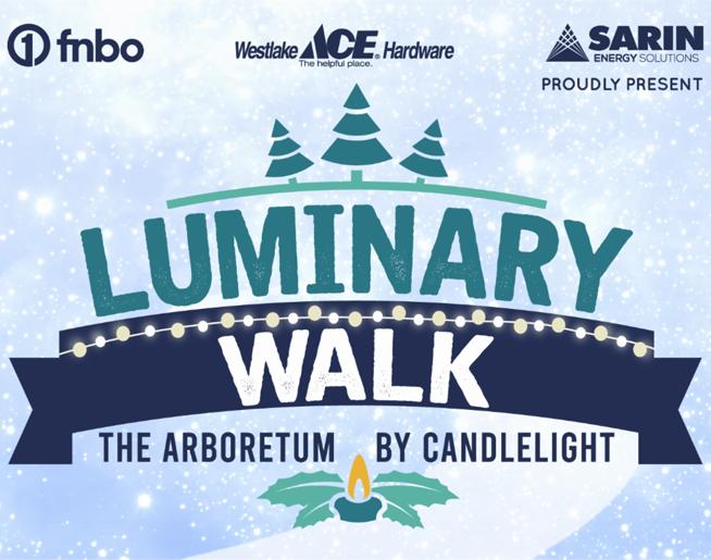 Luminary Walk // OP Arboretum & Botanical Gardens