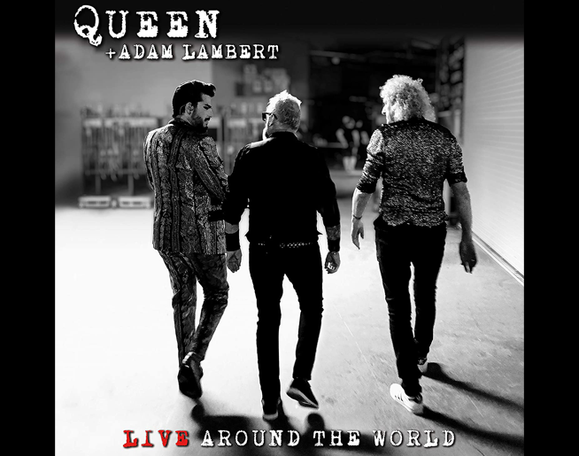 Listen to Queen + Adam Lambert LIVE Around the World!