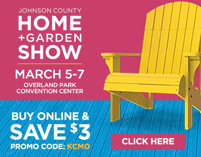 Johnson County Home + Garden Show // March 5-7