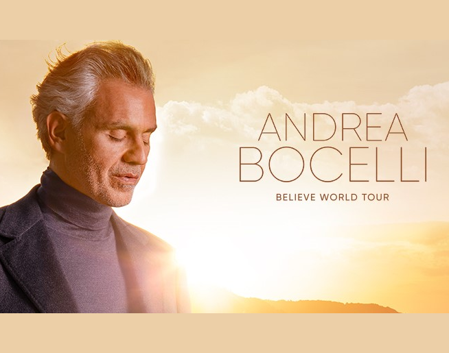 Andrea Bocelli at T-Mobile Center October 16th