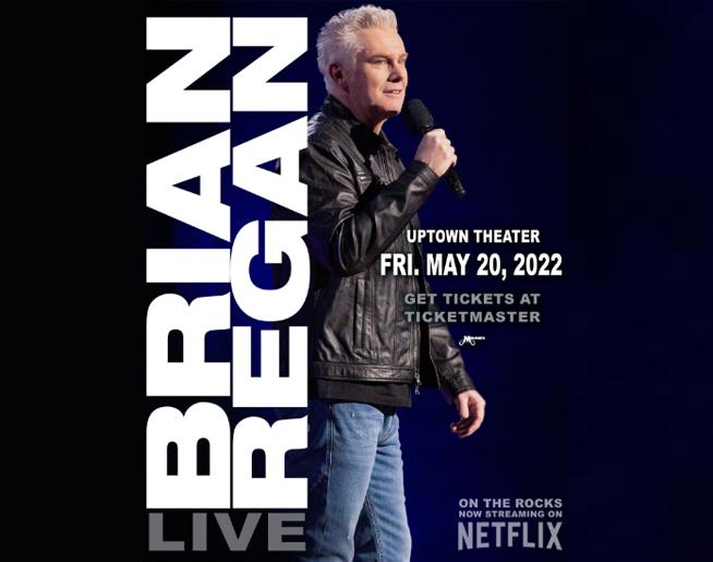 Brian Regan // 5.20.22 @ Uptown Theater