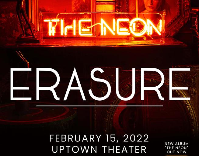 Erasure // 2.15.22 @ Uptown Theater