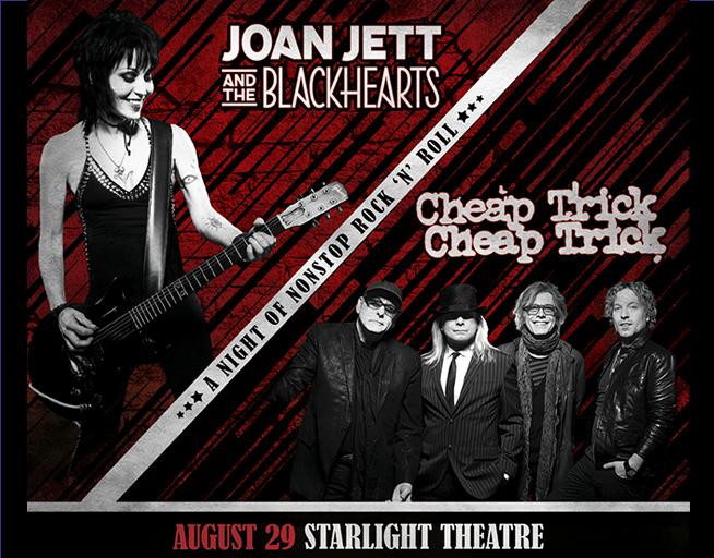 Joan Jett Cheap Trick