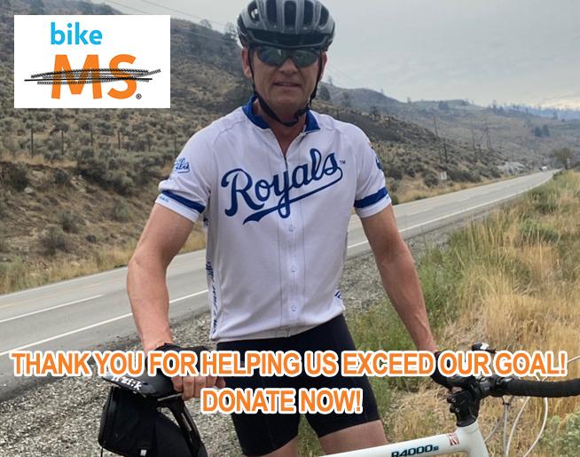 Bike MS – DONATE NOW!
