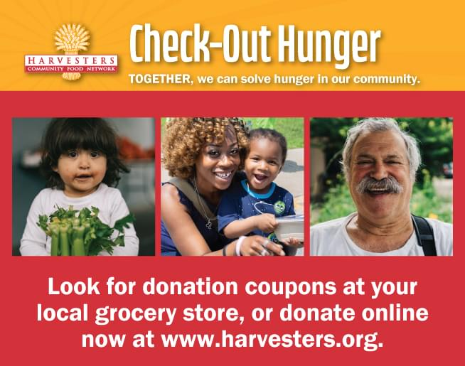 Harvesters Check-Out Hunger 2019