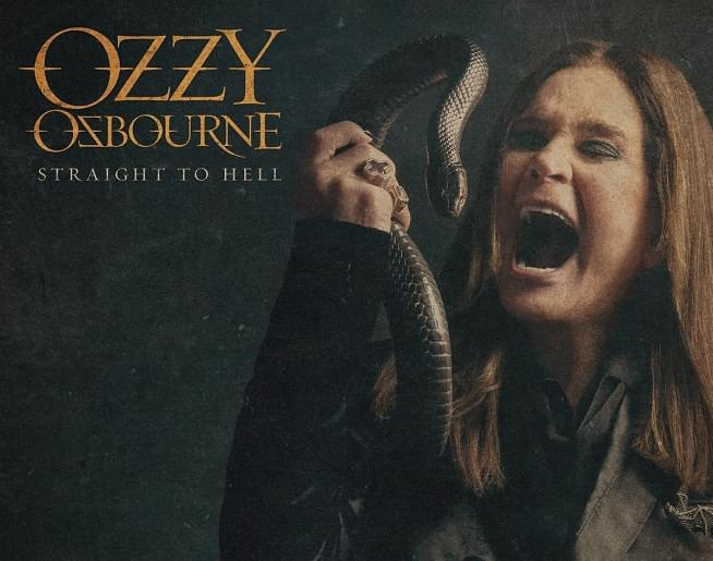 "NEW MUSIC: Ozzy Osbourne ""Straight To Hell (ft. Slash)"""