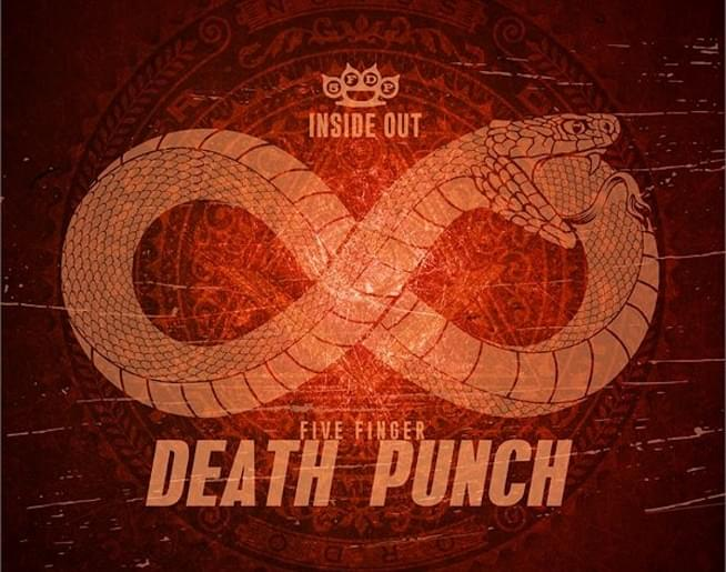 """NEW MUSIC: Five Finger Death Punch """"Inside Out"""""""