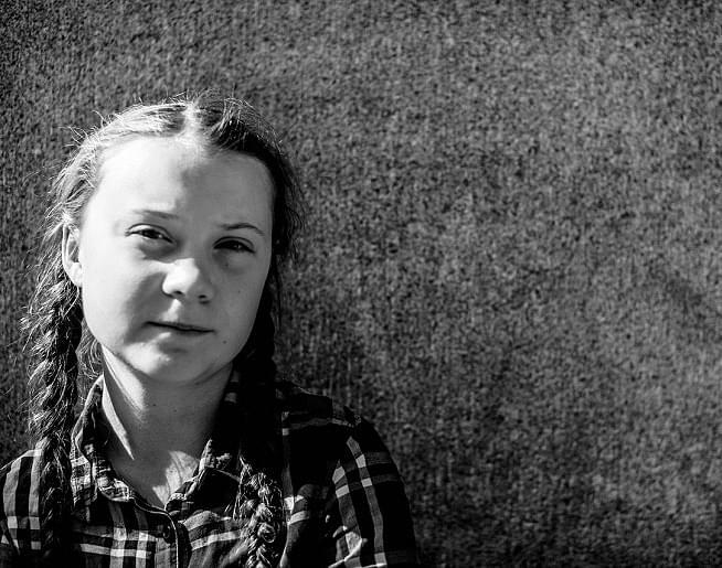 ICYMI: Greta Thunberg's Extreme Metal Makeover