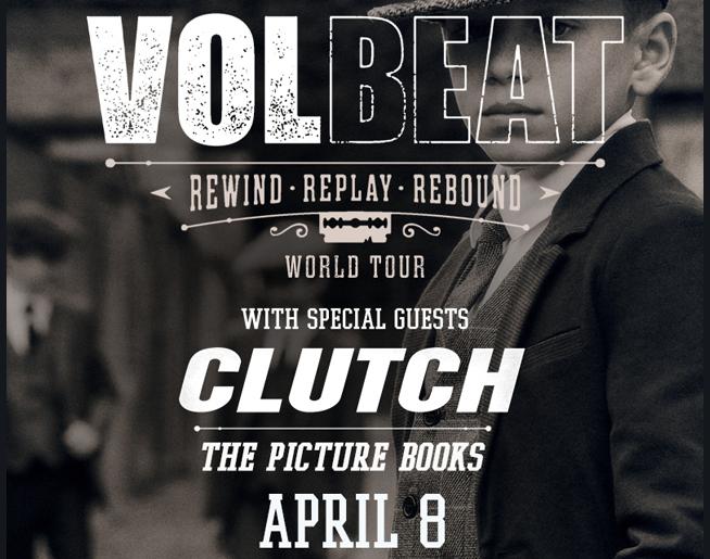 Volbeat // 4.8.20 @ SEC Arena