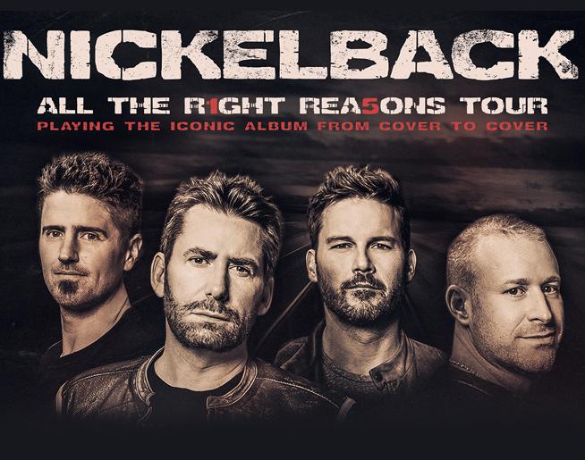Nickelback // 8.25.20 @ Sprint Center