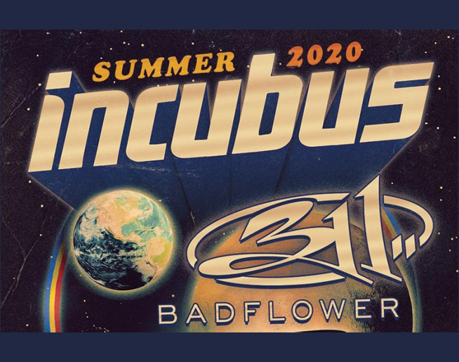 Incubus with 311 // 7.26.20 @ Providence Amphitheater