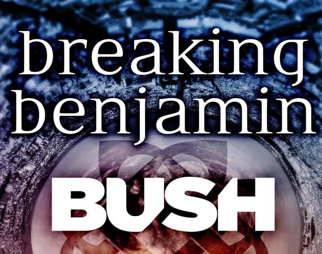 CANCELED – Breaking Benjamin + Bush // 8.29.20