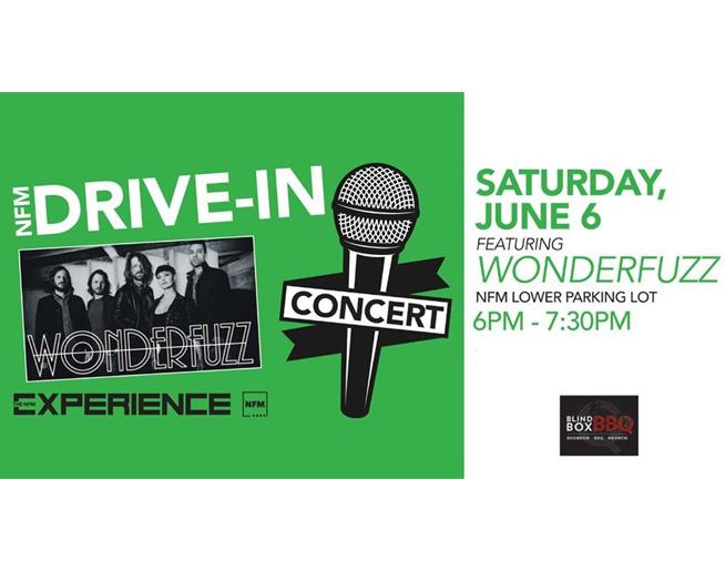 NFM Drive-In Concert on June 6 – Wonderfuzz!