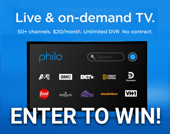 Win a FREE month of Philo!