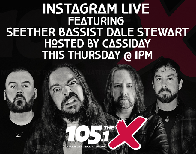 Instagram Live // Seether // 7.16 @ 1pm
