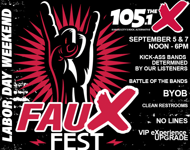 105.1 The X's fauX fest 2020 // Labor Day Weekend