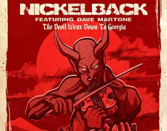 nickelback the devil went down to georgia