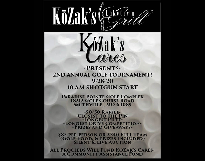 KoZak's Cares 2nd Annual Golf Tournament
