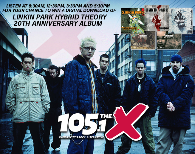 Win a Digital Download of Linkin Park Hybrid Theory 20th Anniversary Album