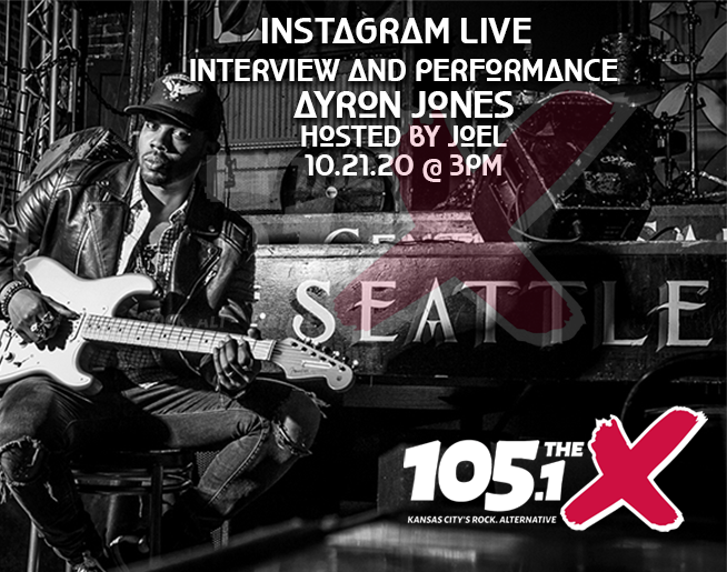 Ayron Jones on IG Live Hosted By Joel