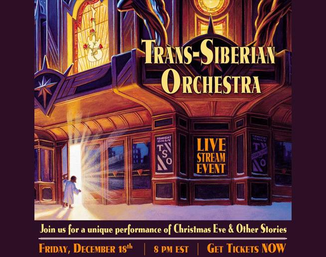 Trans-Siberian Orchestra Live Stream – Dec. 18
