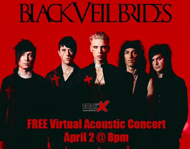 Black Veil Brides // FREE Virtual Concert // 4.2.21