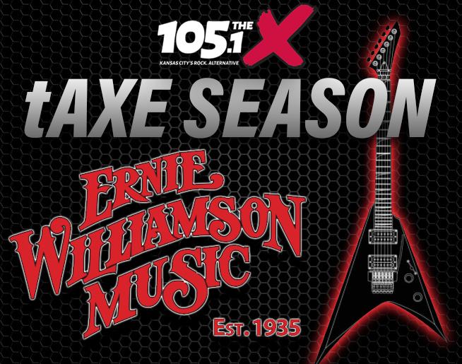 tAXE SEASON // Win a guitar!