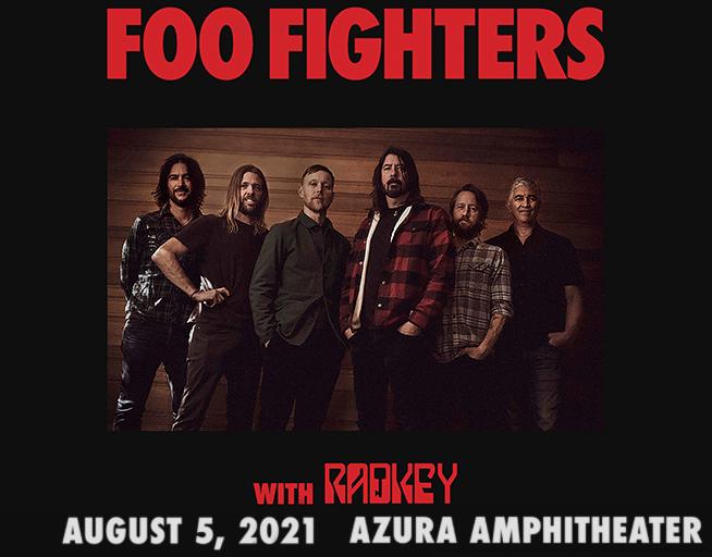 Foo Fighters // Azura Amphitheater Aug 5th