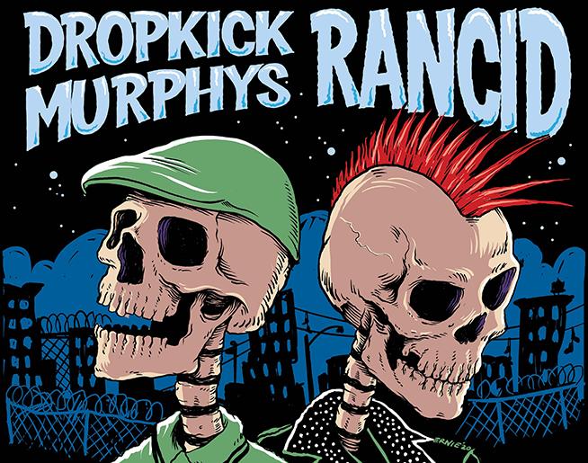Dropkick Murphys & Rancid // 8.11.21 @ Grinders KC