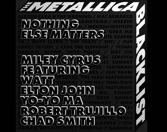 Hear Miley Cyrus And Elton John's All-Star Cover Of Metallica's 'Nothing Else Matters'