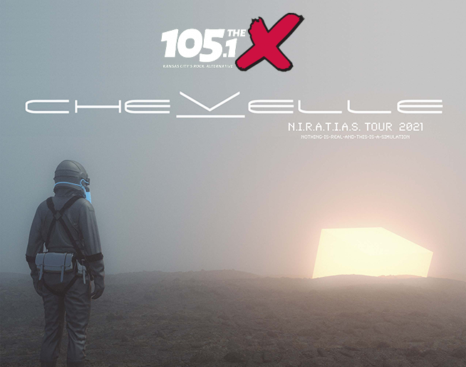 105.1 The X Presents Chevelle // 9.1.21 @ Uptown Theater