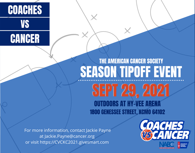 Coaches vs Cancer // 9.29.21 @ Hy-Vee Arena