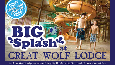 Big Brothers Big Sisters Big Splash at Great Wolf Lodge!