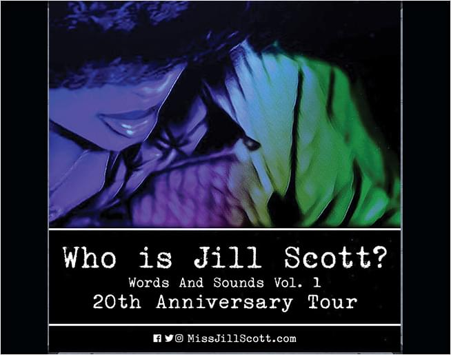 20th Anniversary Tour JILL SCOTT – Feb 7th