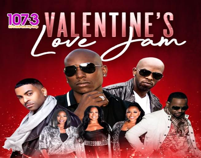 IT'S THE 107-3 Valentine's Love Jam at Sprint Center on Feb. 15