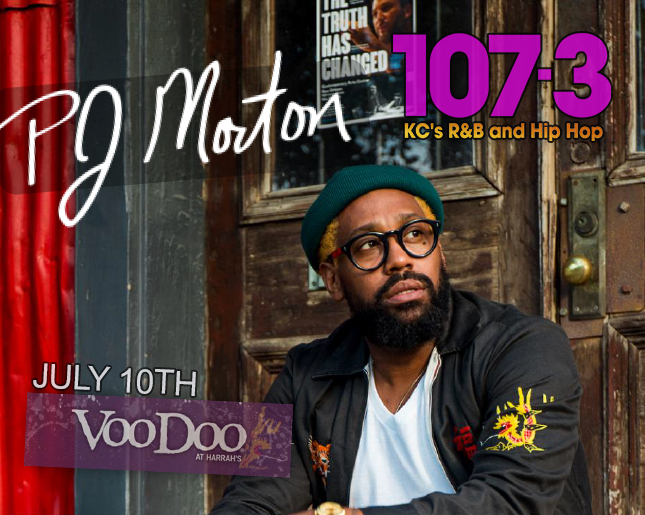 PJ Morton / July 10 / VooDoo Lounge