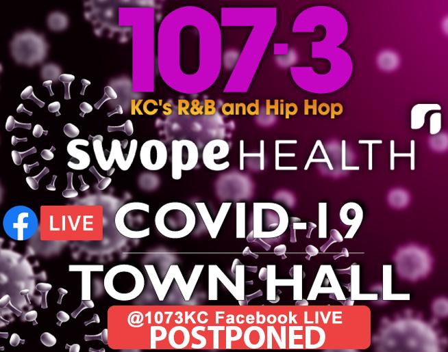 107.3 COVID-19 LIVE Virtual Town Hall – POSTPONED