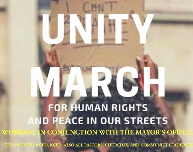 Unity March for Human Rights and Peace in our Streets