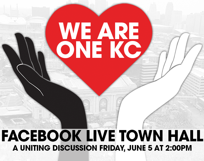Please take the time to watch our WE ARE ONE KC Virtual Town Hall