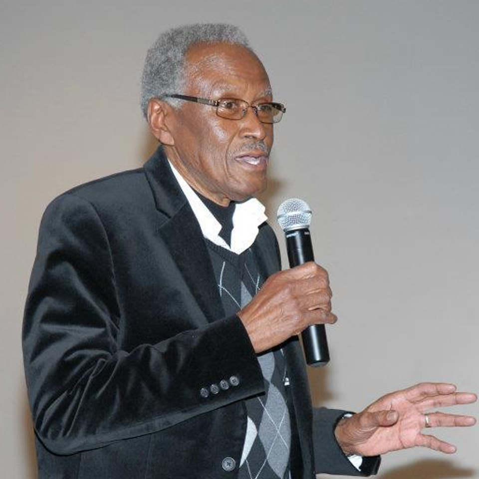 Alvin Brooks was one of the first African Americans to serve in the Kansas City Police Department. He later founded the AdHoc Group Against Crime and has worked tirelessly for equality and against crime for decades in Kansas City.