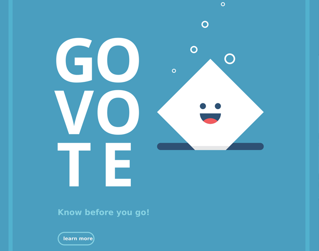 BE THE CHANGE – Make Your Plan to VOTE